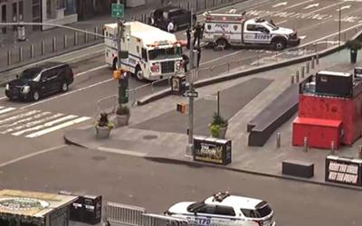 Скандалы и криминал: Полиция эвакуировала людей с части площади Таймс-сквер